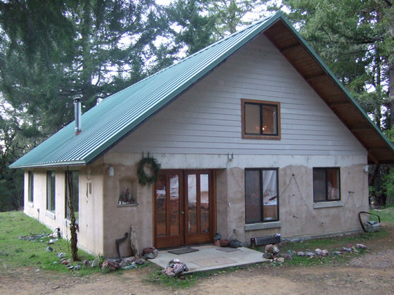 Alternative building in the willits area for Cordwood house cost